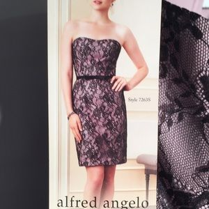 Alfred Angelo beautiful fully lined lace dress